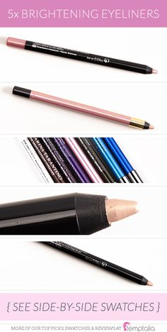 Here are some of the eyeliners I've been reaching for to brighten my lower lash line these days!...