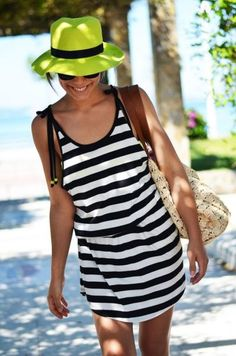 Stripes: Can't Get Enough. Love the neon hat!
