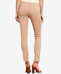 Lauren Ralph Lauren Stretch Skinny Pants - Chocolate 16