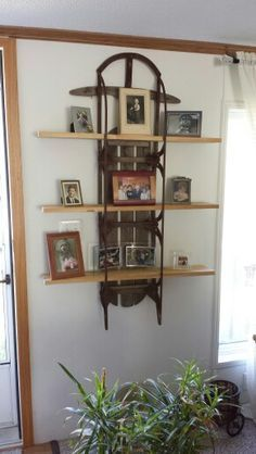 My sled shelf!