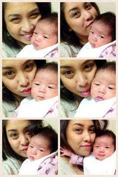 Mother & Baby selfie