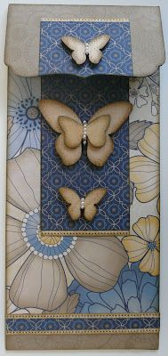 by Sherri Tozzi.... with wooden butterflies