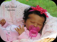 Reborn Biracial Ethnic Baby Girl Doll Lifelike Quot Sweet Pea