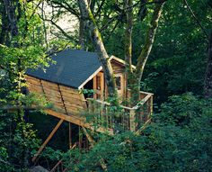treehauslove:   Beigorri Treehouse. A neat and... - strictly nature | vhord