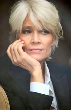 Silver Hair Women Over 50 | GREY TO GO CLASSY. Short grey with some layers and volume looks ...