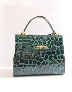 7708fe14ce9b Details about Vintage Hand Stamped Leather Handbag Shoulder Bag