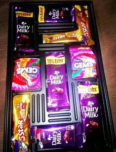 Dairy Milk Chocolate, Cadbury Dairy Milk, Pink Chocolate, Chocolate Lovers, Happy Birthday Quotes For Friends, Birthday Wishes For Kids, Cool Girl Pictures, Food Pictures, Best Birthday Surprises