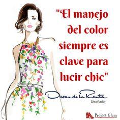 El color...