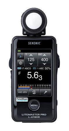 Sekonic L 478DR Lite Master Pro Light Meter