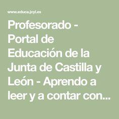 Profesorado - Portal de Educación de la Junta de Castilla y León - Aprendo a leer y a contar con los Mármol