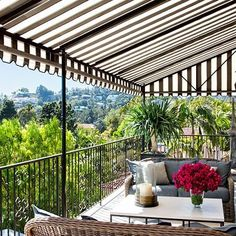 After: Terrace: Architectural Digest