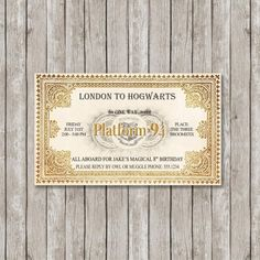 Invite Your Guests to Hogwarts with this Harry Potter themed wedding stationery. Click on the image to see the full gallery on Harry Potter Themed Wedding.