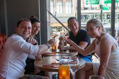 De WijnSpijs Wandeling is een bekend en geliefd fenomeen: al wandelend word je langs een aantal restaurants geleid, die je, op vertoon van je strippenkaart, laten zien wat ze voor culinaire kwaliteiten in huis hebben…