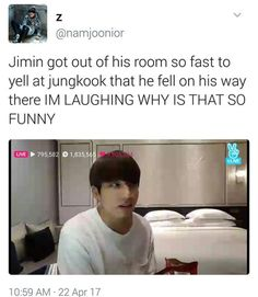Jungkook knows how to get a hold of jimin