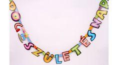 Boldog születésnapot felirat 1., Nicol Party Kellék Bolt Art, Art Background, Kunst, Performing Arts