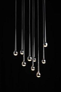 Falling Water Suspended Lights, Tobias Grau.