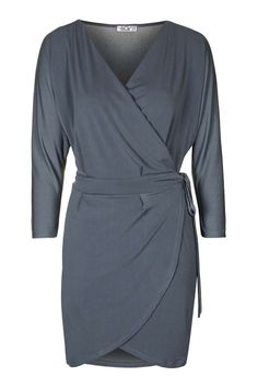 **Batwing Wrap Dress by Wal G