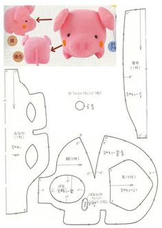 another cut pig pattern