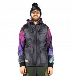 Beacon Reversible Vest black/camo