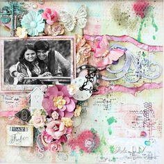 #scrapsofelegance  #mixedmedia  #primamarketingflowers  @primamarketinginc  #gardenfable #debutante #colors #aoladiy  #artmysoul