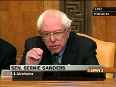 Pls RP: #YouTubeBERNS Bernie Sanders Grills Ben Bernanke (2) [3/3/2009]