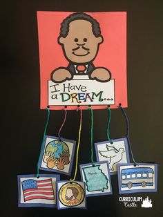 Martin Luther King, Jr. Day mobile craft!