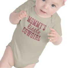 Mommy's Little Cowgirl Tshirts