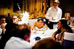 New Years Eve Wedding. Italian theme wedding. Derbyshire Wedding, Winter Wedding. Wedding speeches photography. Shaun Taylor Photography