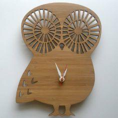 #DIY Modern Animal Clock - Owl