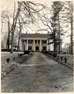Barrington Hall, Roswell, Ga. (built 1842) @The Georgia Trust for Historic Preservation