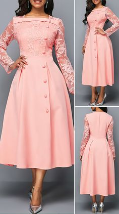 Stylish Dresses, Elegant Dresses, Pretty Dresses, Vintage Dresses, Beautiful Dresses, Casual Dresses, Formal Dresses, Formal Dress Patterns, Summer Dresses