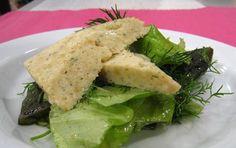 Haukimureketta salaattipedillä