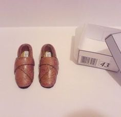how to make men's miniature shoes in 1:12 scale