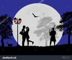 Imagini pentru lovers in the night
