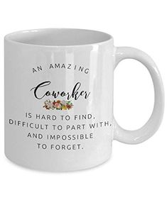 89437a0e468 Coworkers Co-worker Colleague Boss best mugs coffee tea cup gifts funny  friend Retirement Goodbye