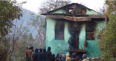 चुरोटको ठुटोबाट सल्केको आगोले घर जल्दा १ को मृत्यु २ घाइते
