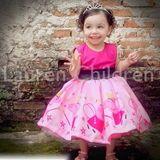 Vestido Peppa Pig LUXO no Elo7 | Atelier Lauren Children (4652B5)
