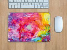 """""""Abstract Watercolor"""" heißt das kreativ-bunte Design für dein MacBook Pro 13 - Einzigartig! #watercolor #abstract #macbook #designfolie"""
