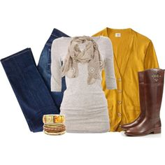 Autumn Inspired, created by ohsnapitsalycia on Polyvore