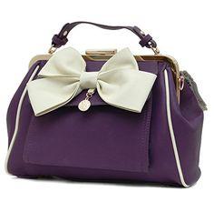 LYDC LONDON Coole Handtasche mit Schleife in 7 Farben (Violette-Beige) LYDC London http://www.amazon.de/dp/B00S9VKRRS/ref=cm_sw_r_pi_dp_MXMYub0ZMXR9P