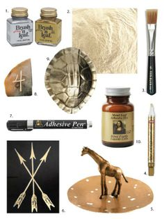 DIY Supply Spotlight: Gold Leafing