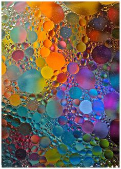 Abstract ~ study of oil & water, photographer Karen Keogh  #photography