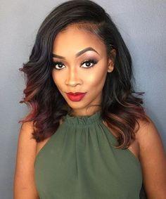 Black Hairstyles for Women #HairstylesForWomen