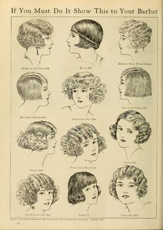 """The Battle for Bobbed Hair"", Photoplay Magazine (1924)"