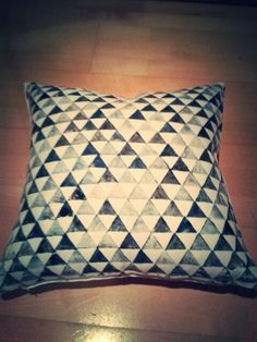 Stamped Pillow