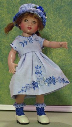 Cornflower Cute for Riley Kish by JDL Doll Clothes