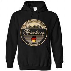 Heidelberg - Germany It Where My Story Begin - #funny tshirt #sweatshirt for girls. ORDER NOW => https://www.sunfrog.com/States/Heidelberg--Germany-It-Where-My-Story-Begin-3902-Black-Hoodie.html?68278