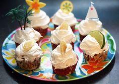 Dark & Stormy Cupcakes