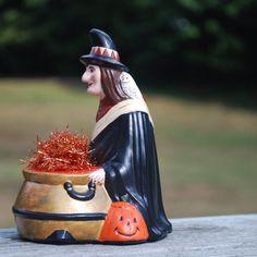 Halloween chalkware by artist Kathleen McDonald