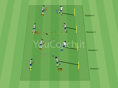 Technical circuit for equilibrium, strength and stability Soccer Shooting Drills, Football Training Drills, Soccer Drills, Soccer Coaching, Soccer Skills For Kids, Soccer Workouts, Girls Soccer, Goalkeeper, Trainer
